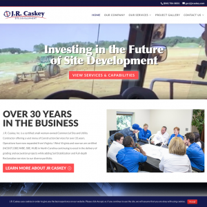 JR Caskey Website Design
