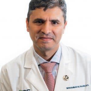 Mohammad M. Rajab, M.D. posing for a headshot