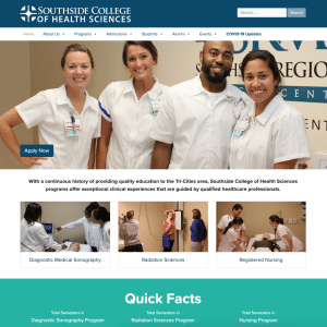 Southside College of Health Sciences homepage